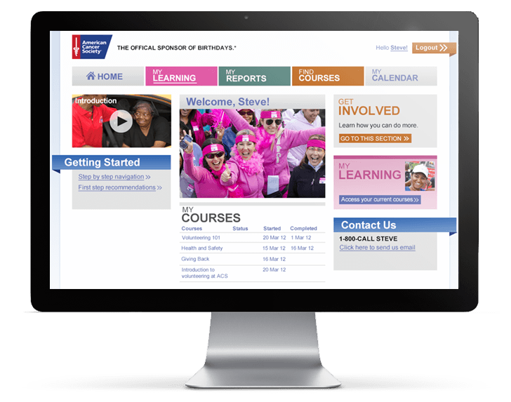 American Cancer Society LMS