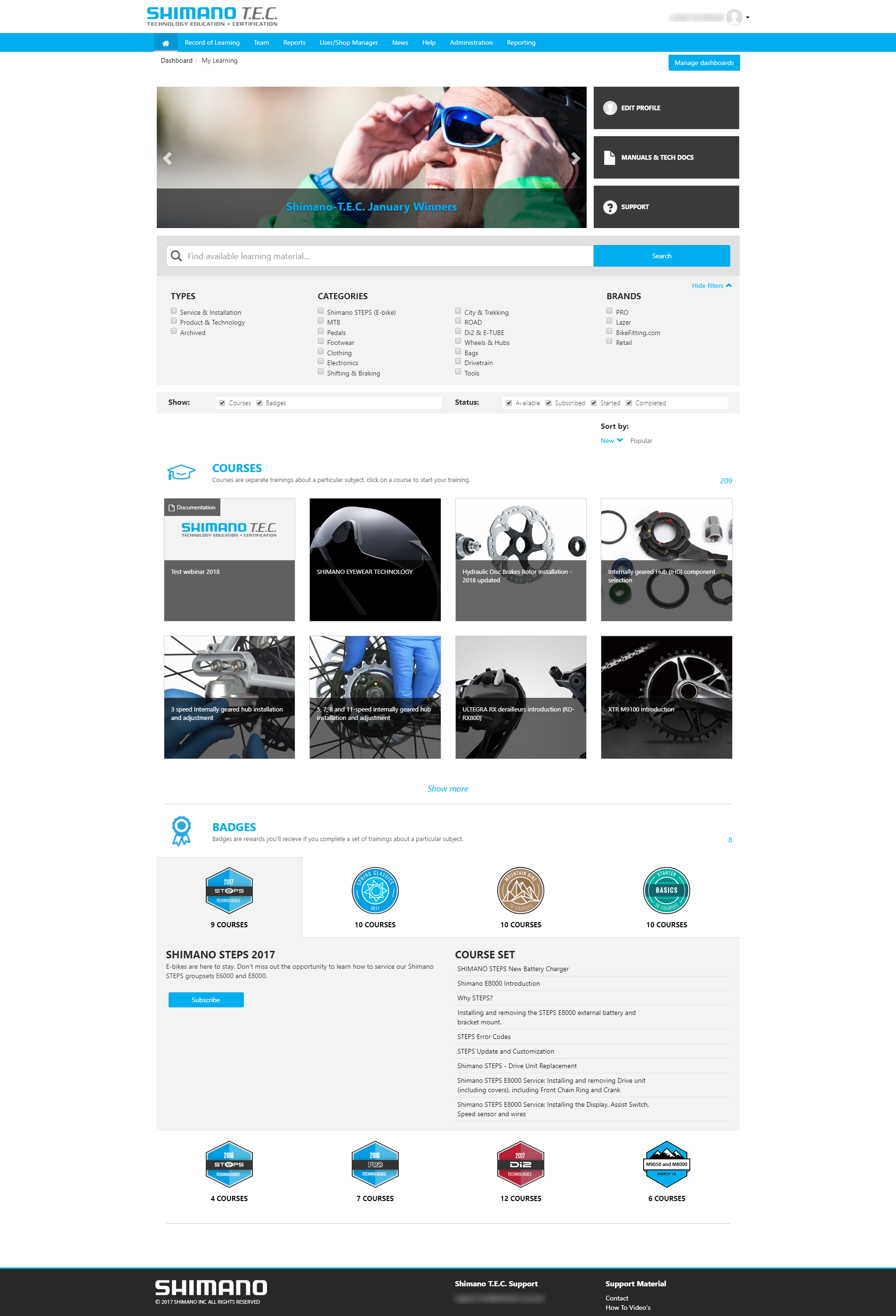 Shimano customer story screenshot