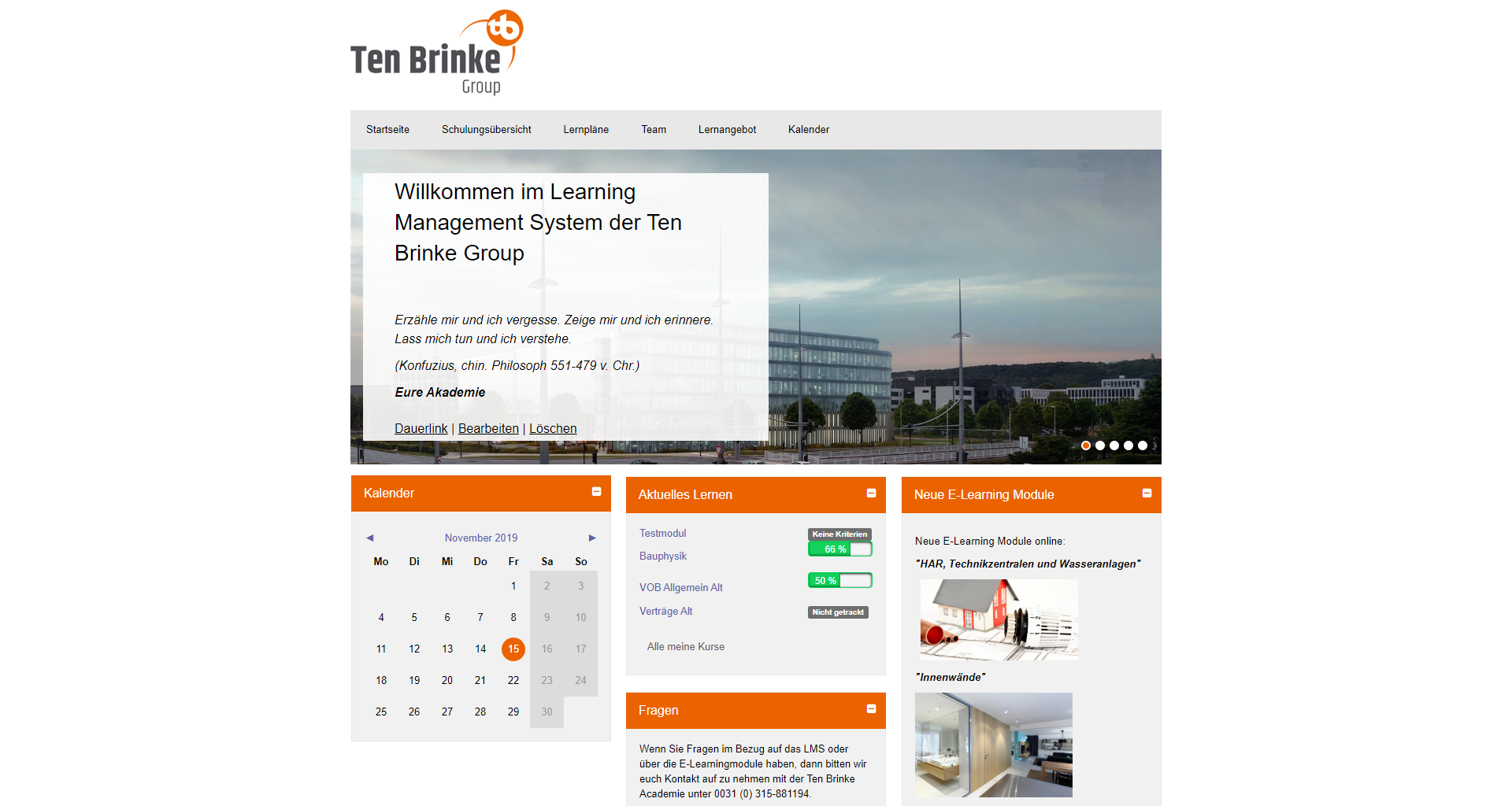 Ten Brinke Group screenshot