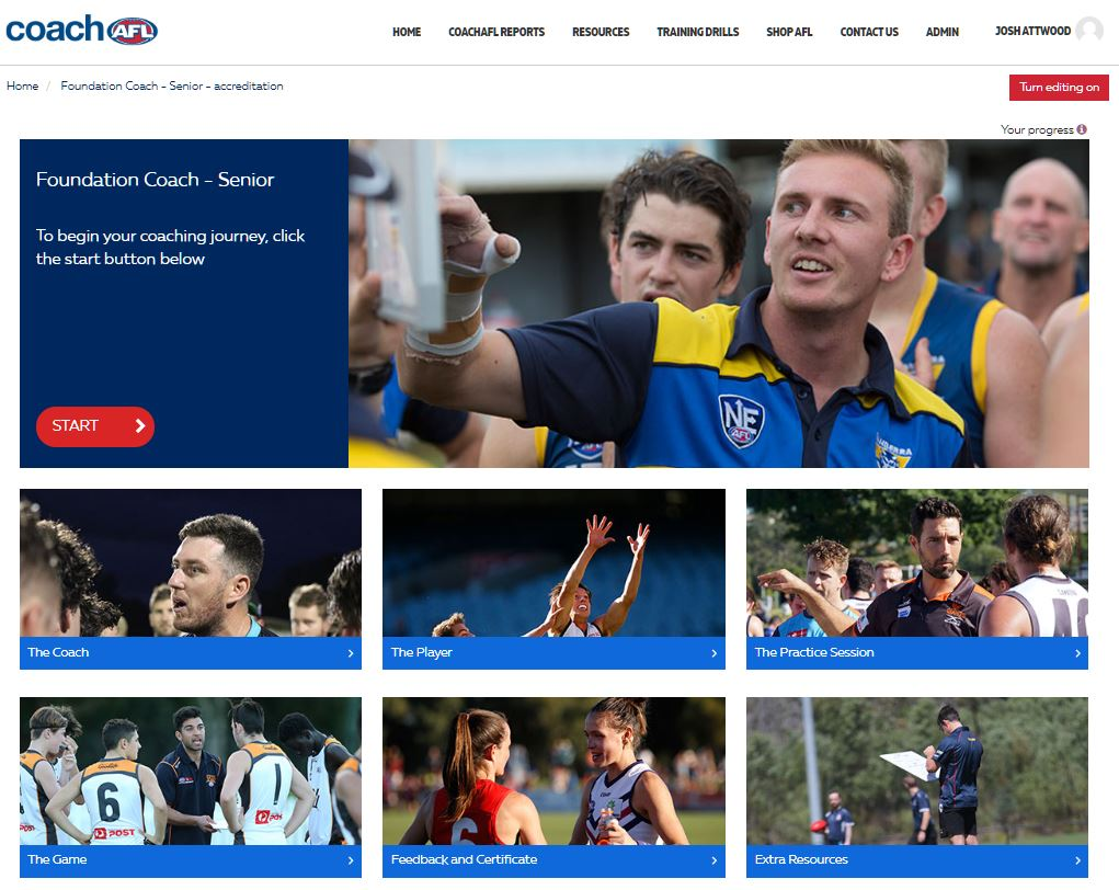 AFL Foundation course