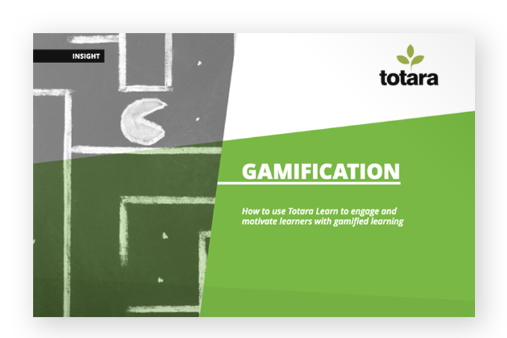 Gamification Totara Learn