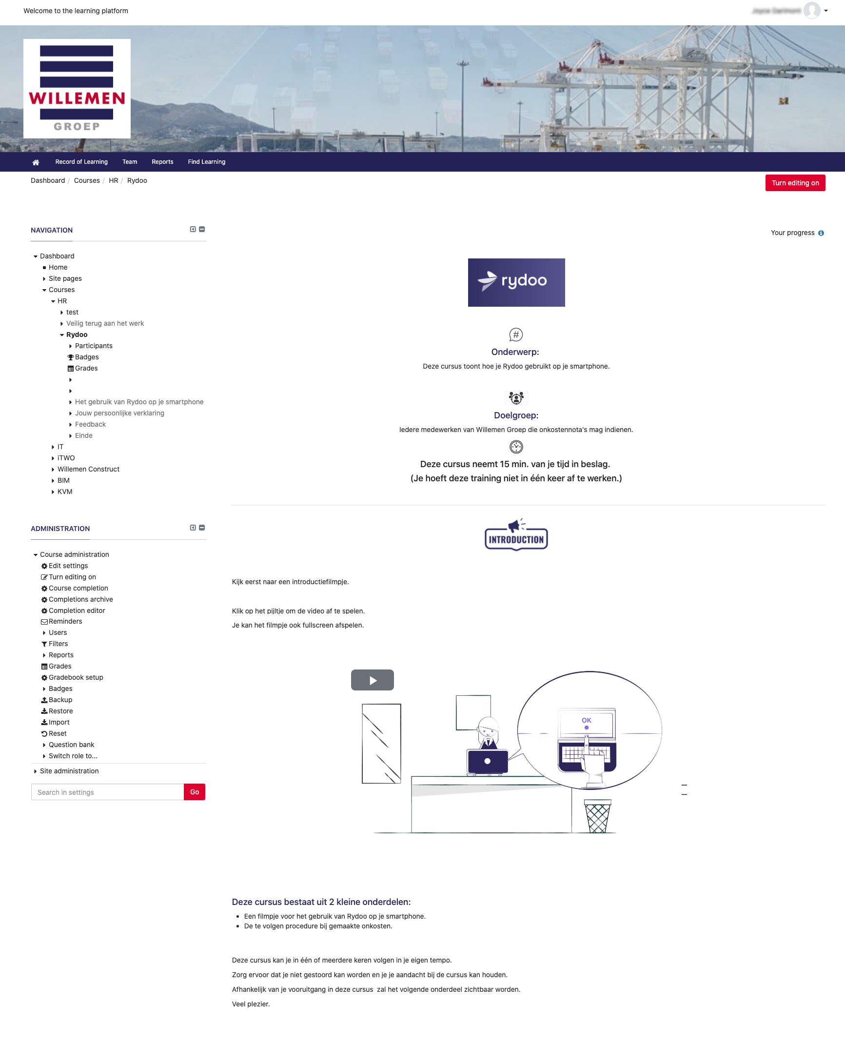 Willemen Group lms visual
