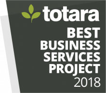 Totara Awards Badge 2018 - Best Business Services