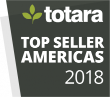 Totara Awards Badges - 2018 Top Seller Americas