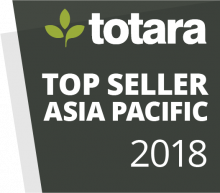 Totara Awards Badges - 2018 Top Seller Asia Pacific