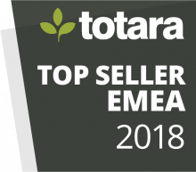 Totara Awards Badges - 2018 Top Seller EMEA