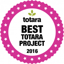 Totara Award Best Project 2016