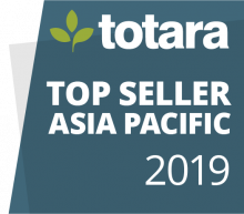 Totara Top Seller APAC 2019 badge