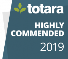 Totara Badge 2019 Highly Commended