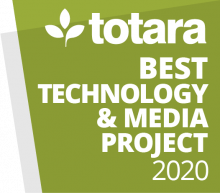 Totara Awards 2020 - Best Technology & Media Project