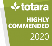 Totara Awards 2020 - Highly Commended Project
