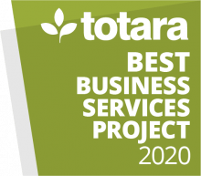 Totara Awards 2020 - Best Business Services Project