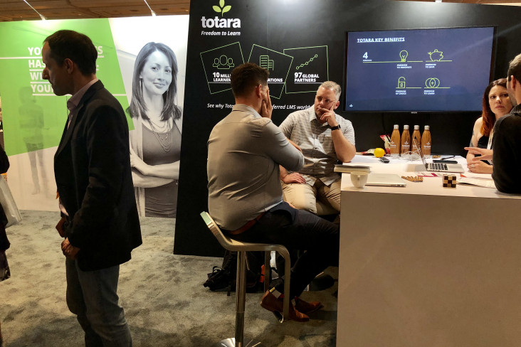 Totara DevLearn 2018 Conversations