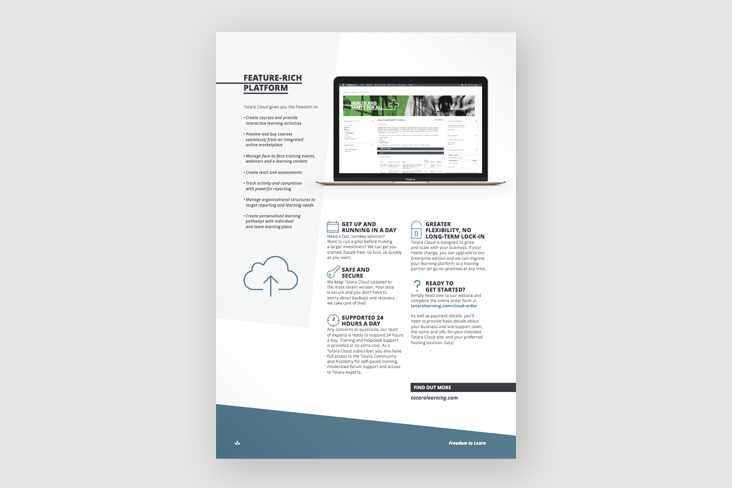 totara cloud product sheet thumbnail