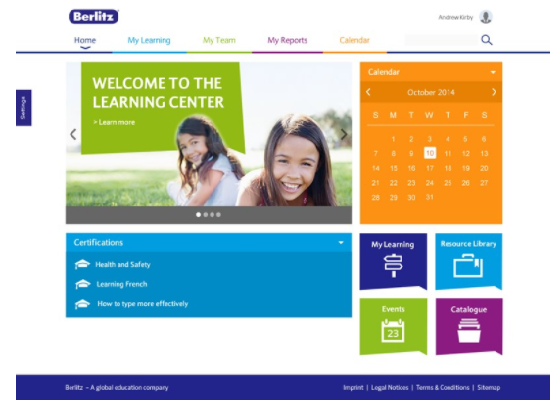 Berlitz LMS - Totara Learn