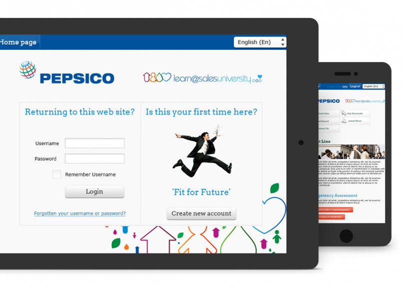 pepsico LMS solution Totara