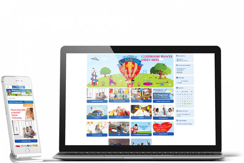 The Entertainer - Totara Learn LMS