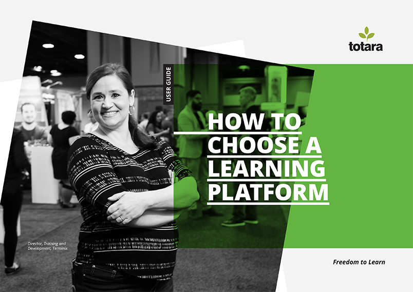 Totara how to choose a learning platform guide front cover