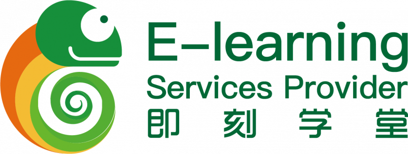 Logo e-learning services provider