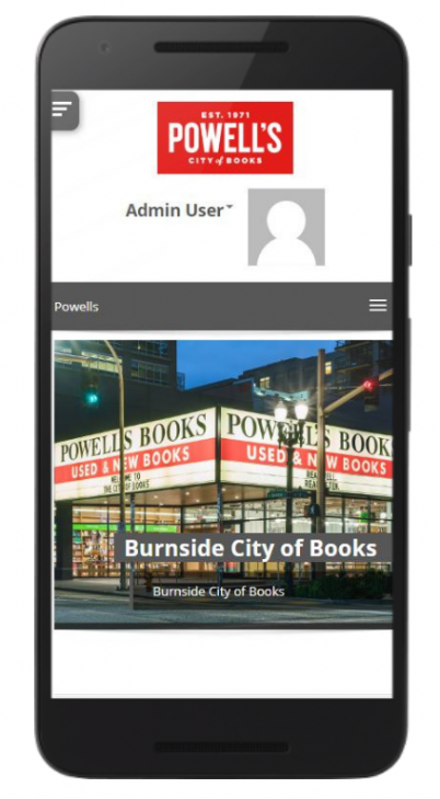 powell's homepage totara mobile