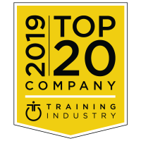 Training Industry top 20 LMS company award