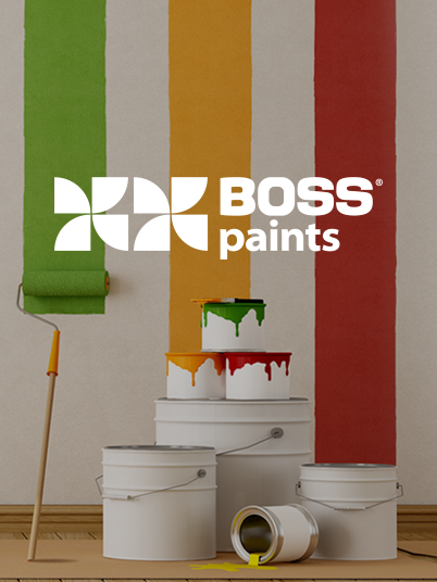 BOSS paint teaser banner
