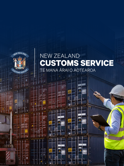 NZ Customs teaser banner