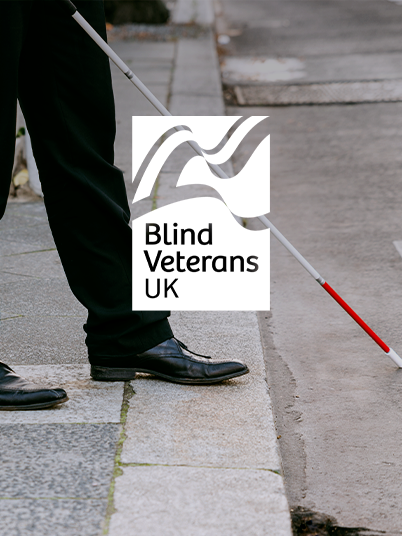 Blind Veterans UK Totara LMS Banner