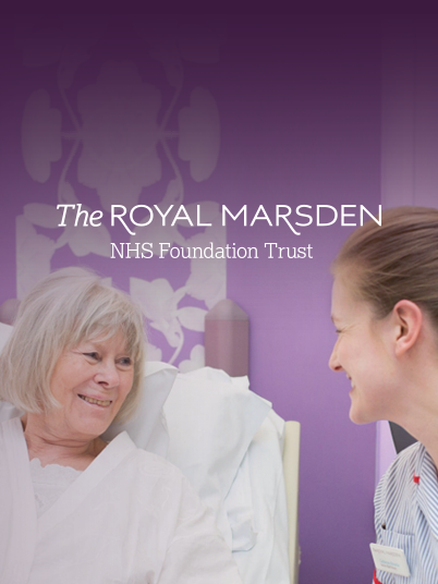 Royal marsden banner